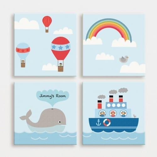 Kids Canvas Wall Art – Wall Shelves Intended For Childrens Wall Art Canvas (View 18 of 20)