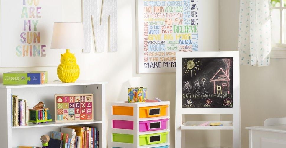 Kids' Wall Art You'll Love | Wayfair Regarding Playroom Wall Art (Image 11 of 20)