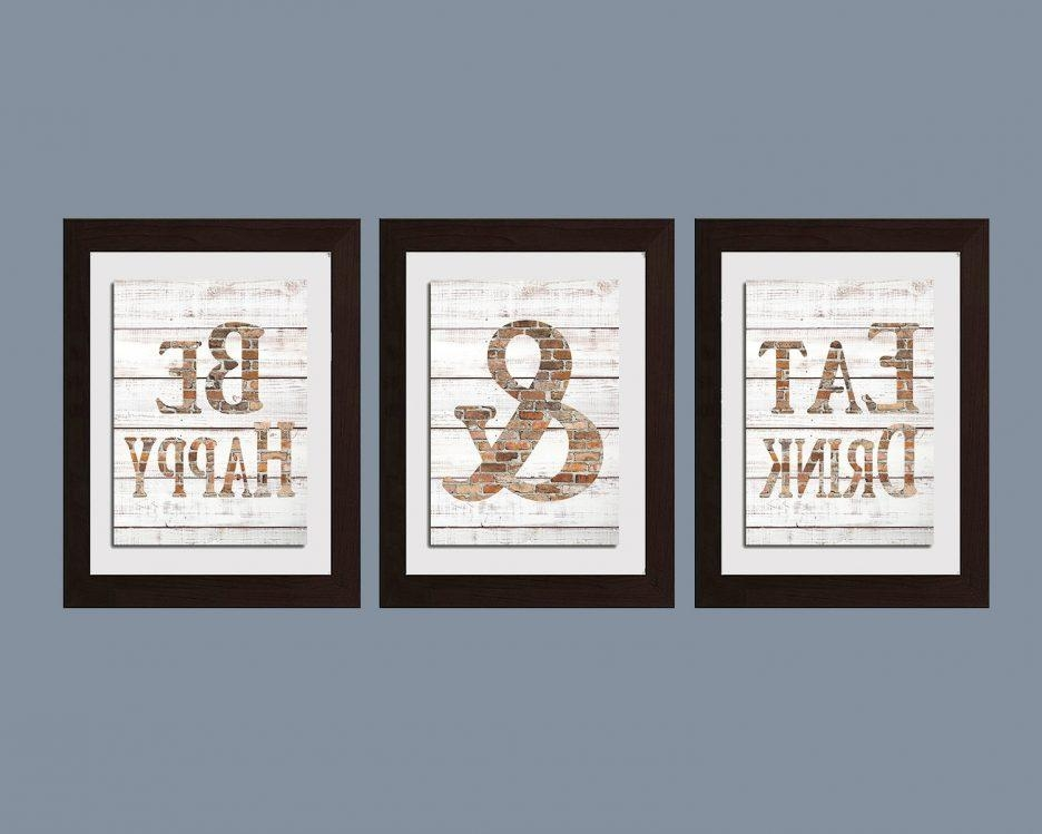 Kitchen : Kitchen Wall Art For Awesome Kitchen Sayings Wall Art Intended For Large Wall Art For Kitchen (Photo 17 of 20)