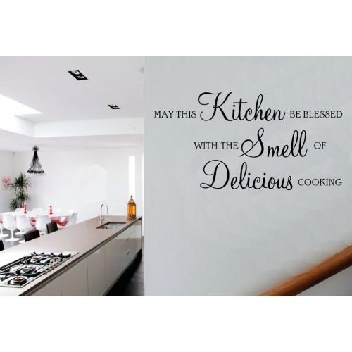 Kitchen Vinyl Sticker Wall Art For Wall Art For Kitchens (Image 16 of 20)