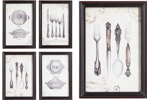 Kitchen Wall Art Décor | Dining Room Art Antique Farmhouse With Regard To Kitchen Wall Art Sets (Image 14 of 20)