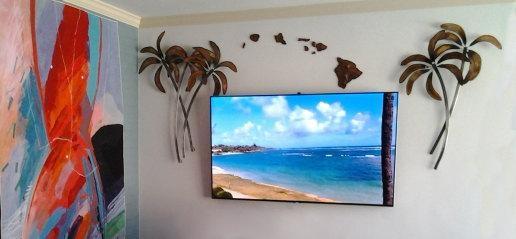 Koa Wood Hawaiian Island Chain Wall Art (View 17 of 20)