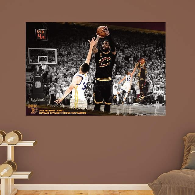 Kyrie Irving Nba Finals 3 Point Mural Wall Decal | Shop Fathead With Nba Wall Murals (View 11 of 20)