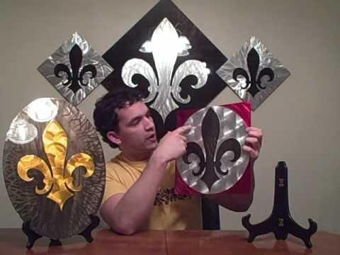 La Wall Art – Metal Fleur De Lis Wall Art – Episode #16 – Youtube For Metal Fleur De Lis Wall Art (View 15 of 20)