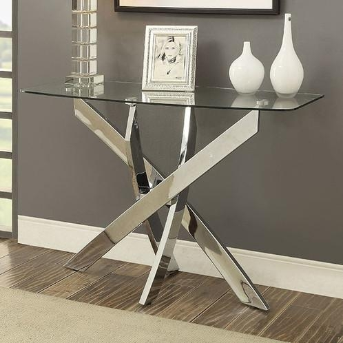 Laila Sofa Table | Amavi Designs | Quality Furniture At Amazing Prices With Regard To Chrome Sofa Tables (Image 16 of 20)