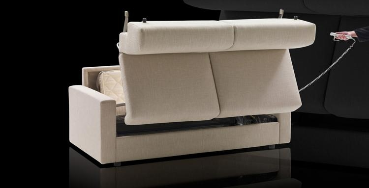 Lampo Motion From Milano Bedding Is A Stylish Sofa Bed With Pertaining To Electric Sofa Beds (Image 12 of 20)