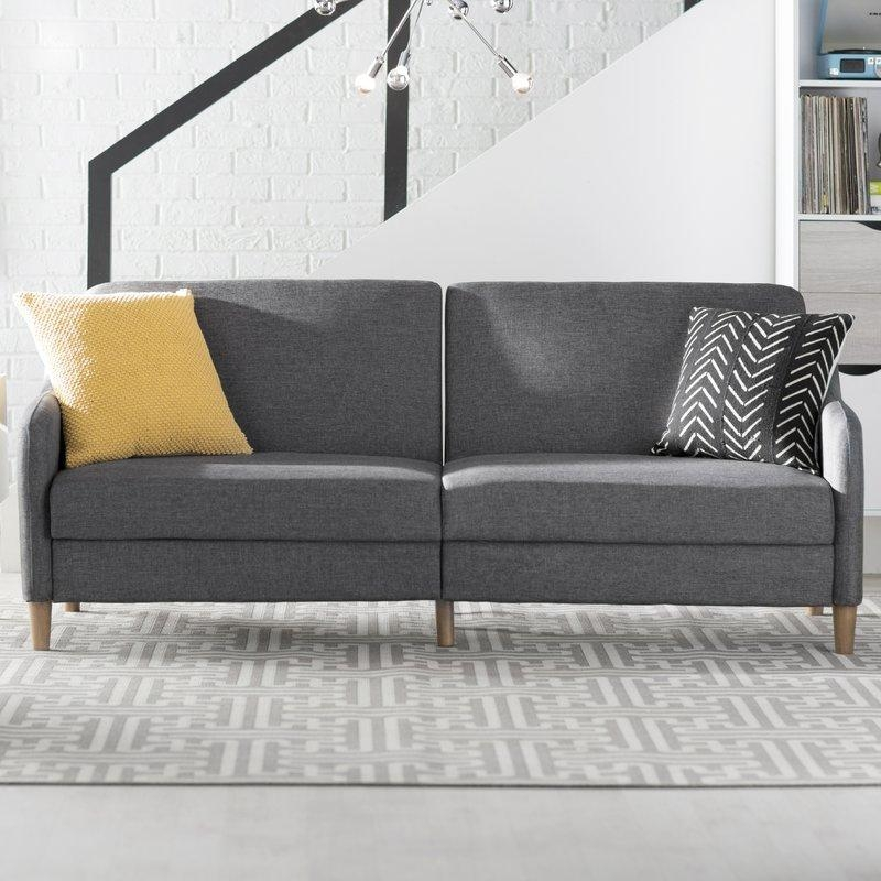 Langley Street Tulsa Sleeper Sofa & Reviews | Wayfair With Sleeper Sofas (Image 11 of 20)