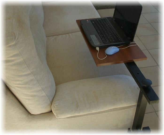Laptop Lap Trays Couch Table Laptop Tables For Low Height Settee Throughout Under Sofa Tray Tables (Image 5 of 20)