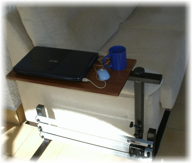 Laptop Lap Trays Couch Table Laptop Tables For Low Height Settee With Regard To Under Sofa Tray Tables (Image 6 of 20)