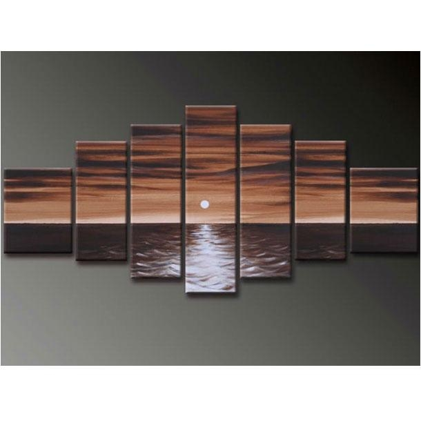 Large 7 Piece Canvas Wall Art Sets Inside 7 Piece Canvas Wall Art (View 9 of 20)