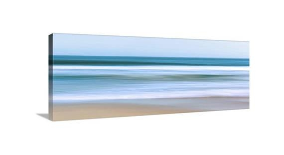 Large Abstract Seascape Canvas Wall Art Ocean Photo In Nautical Canvas Wall Art (View 17 of 20)