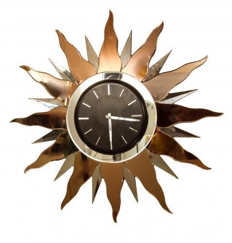 Large Art Deco Wall Clock, 1930S For Sale At Pamono Inside Large Art Deco Wall Clocks (Image 8 of 20)