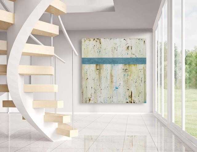 Large Beachy Wall Art – Modern Beach House Decor With Regard To Beach Cottage Wall Decors (Photo 11 of 20)