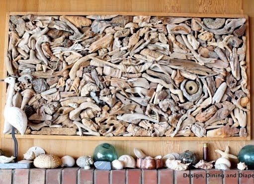 Large Drift Wood Wall Art – Completely Coastal Within Driftwood Wall Art For Sale (Image 10 of 20)