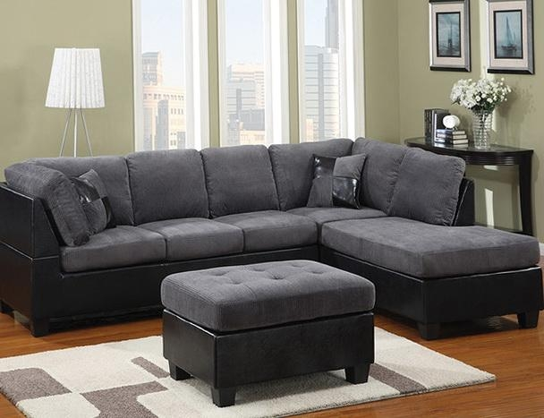 Large Light Grey Sectional Couch Picture. Saveemail (Image 13 of 20)