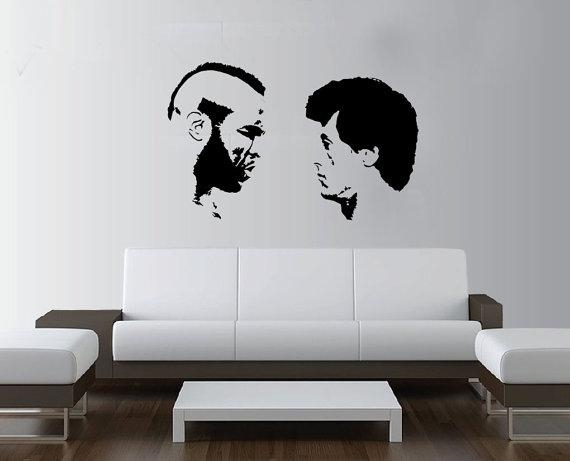 Large Rocky Balboa Boxing Mr T Wall Art Decal Mural Sticker For Rocky Balboa Wall Art (View 6 of 20)