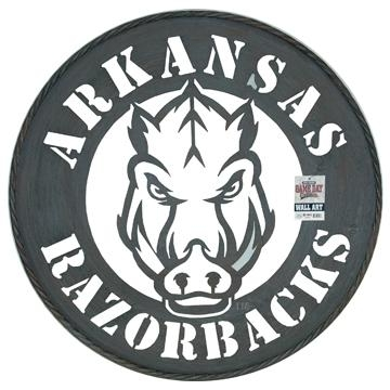 Large Ua Razorback Metal Wall Art With Regard To Razorback Wall Art (Image 18 of 20)