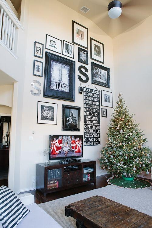 Large Wall Decorating Ideas For Living Room Delectable Inspiration Pertaining To Tall Wall Art Decor (Image 16 of 20)