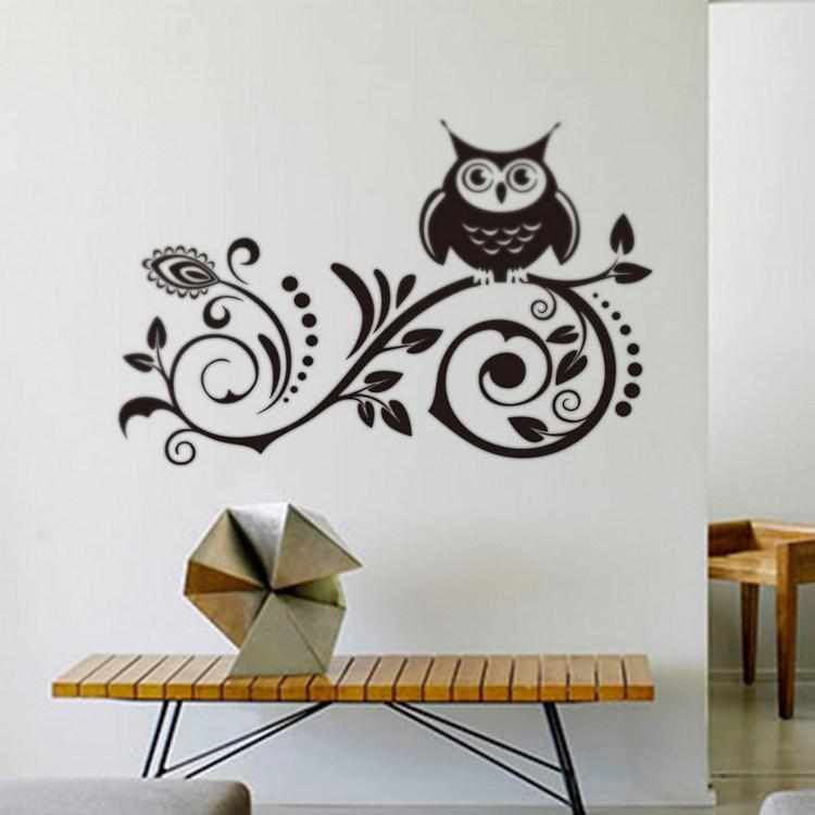 Featured Image Of Owl Wall Art Stickers