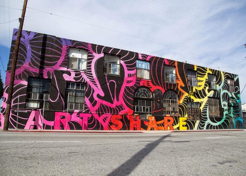 La's Most Instagrammable Walls And Street Art – Racked La Within Los Angeles Wall Art (Image 6 of 20)