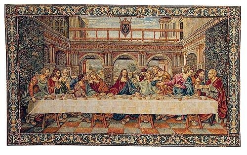 Last Supper Tapestry – Da Vinci Wall Art Inside The Last Supper Wall Art (Image 4 of 20)