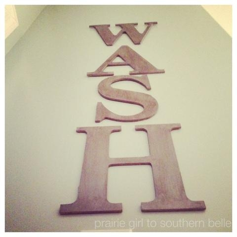 Laundry Room Diy Wall Art | The Taylor House In Laundry Room Wall Art (View 19 of 20)