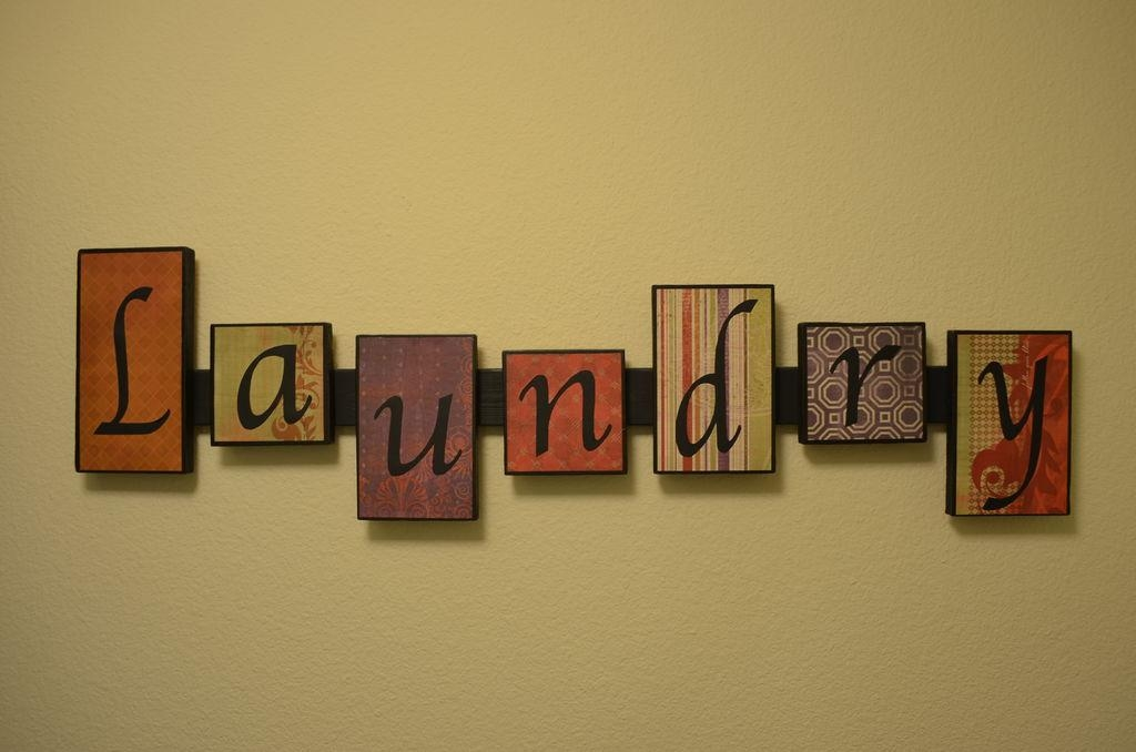 Laundry Room Wall Art: 5 Steps (With Pictures) In Laundry Room Wall Art (Image 13 of 20)