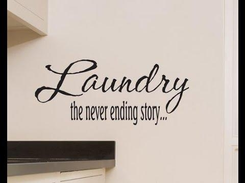 Laundry Room Wall Decor ~ Laundry Room Wall Decor Ideas – Youtube Intended For Laundry Room Wall Art Decors (View 5 of 20)