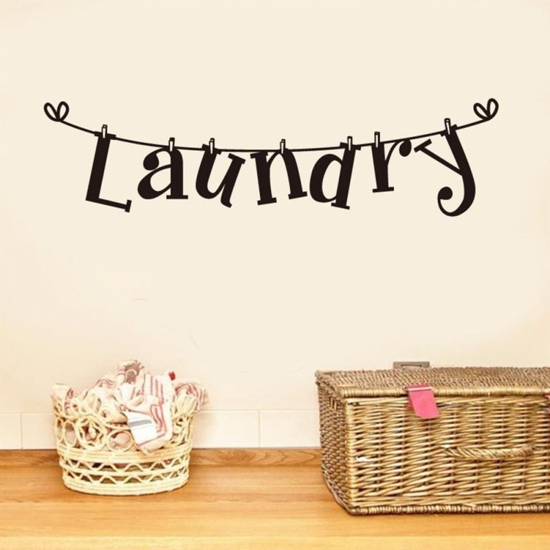 Laundry Wall Art Promotion Shop For Promotional Laundry Wall Art Intended For Laundry Room Wall Art (Image 15 of 20)