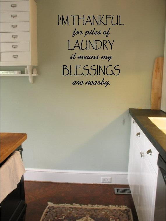 Laundry Wall Decals My Eibfvauelanbvi With Laundry Room Wall Art Throughout Laundry Room Wall Art (Image 16 of 20)