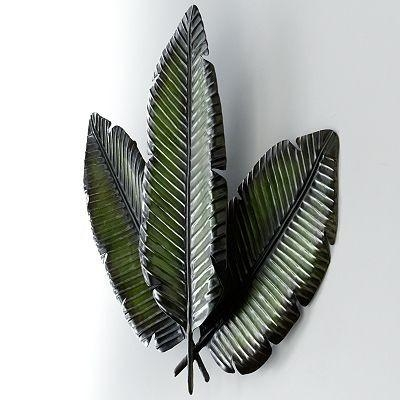 Leaf Wall Decor – Other  Kohl's For Palm Leaf Wall Decor (Image 7 of 20)