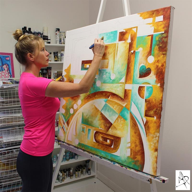 Learn About Contemporary Modern Pop Artist Megan Duncanson Inside Megan Duncanson Metal Wall Art (Image 8 of 20)