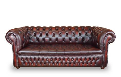 Leather Chesterfield Sofa | Traditional Classic | The Churchill For Churchill Sofas (View 6 of 20)
