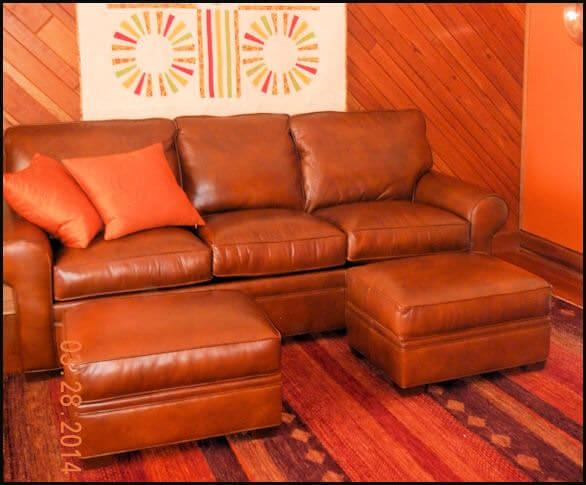 Leather Furniture Reviews Comfort Design Classic Leather Leathercraft Regarding Burnt Orange Leather Sofas (View 8 of 20)