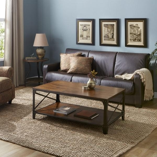 Leather Futon Sleeper In Espresso – Free Shipping Today Within Leather Fouton Sofas (Image 16 of 20)