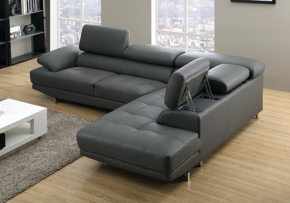 Leather Sofa ~ Charcoal Gray Leather Furniture Charcoal Leather Regarding Charcoal Grey Leather Sofas (View 3 of 20)