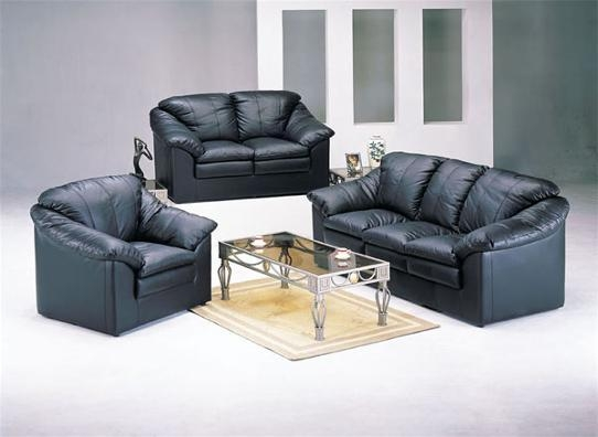 Leather Sofa Loveseat – Used Leather Sofa And Loveseat, New With Regard To Black Leather Sofas And Loveseats (Image 14 of 20)