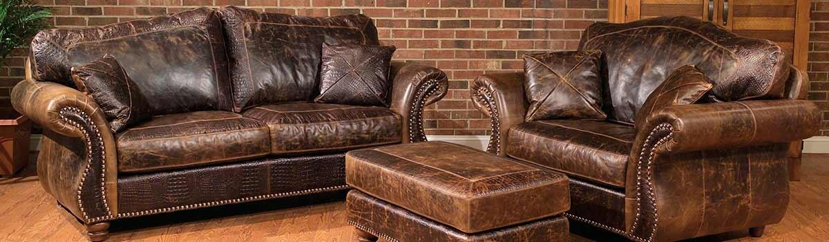 Featured Image of Bomber Leather Sofas