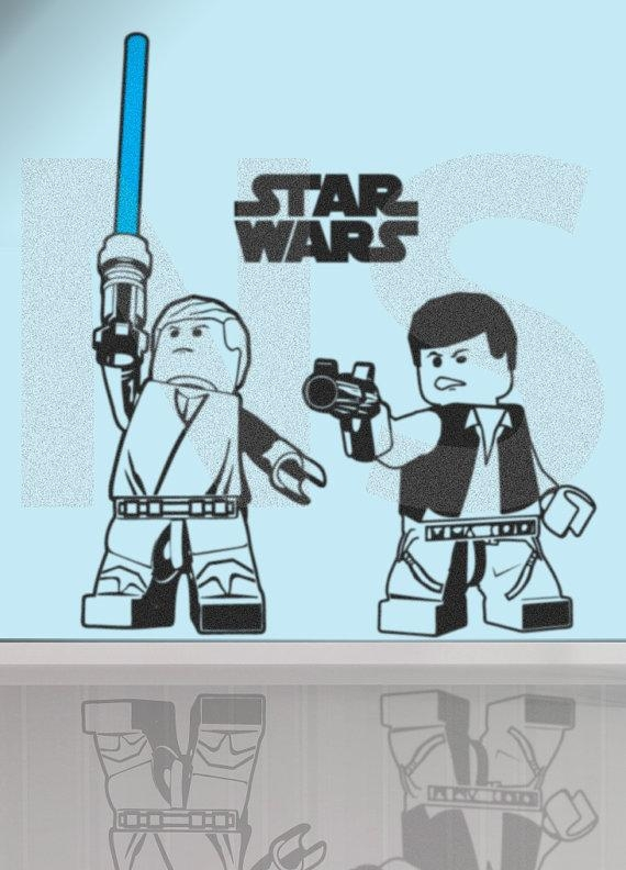 Featured Image of Lego Star Wars Wall Art
