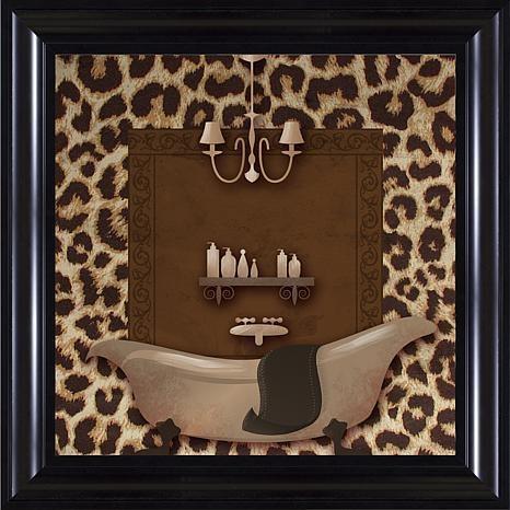 Leopard Bath Wall Art – 10063277 | Hsn Throughout Bath Wall Art (Image 17 of 20)
