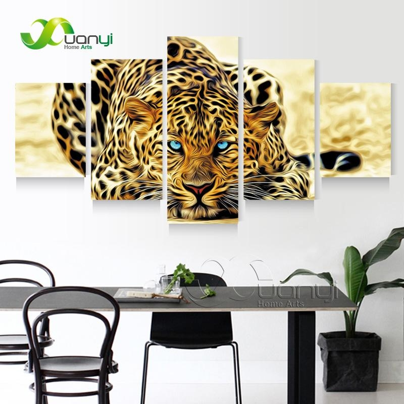 Leopard Print Wall Art Promotion Shop For Promotional Leopard Throughout Leopard Print Wall Art (View 12 of 20)