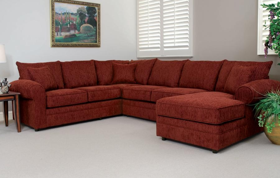 "Liberty Lagana Furniture In Meriden, Ct: The ""battleground Intended For Burgundy Sectional Sofas (View 1 of 20)"