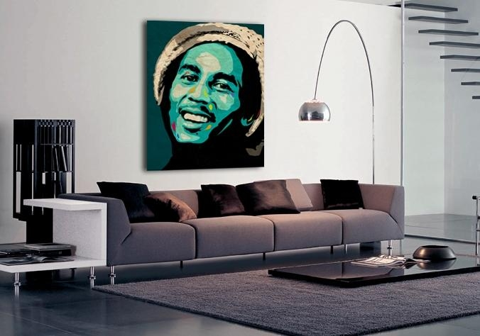 Limited Edition Bob Marley Canvas Print Form Ciaran Monaghan Art Regarding Bob Marley Canvas Wall Art (Image 16 of 20)