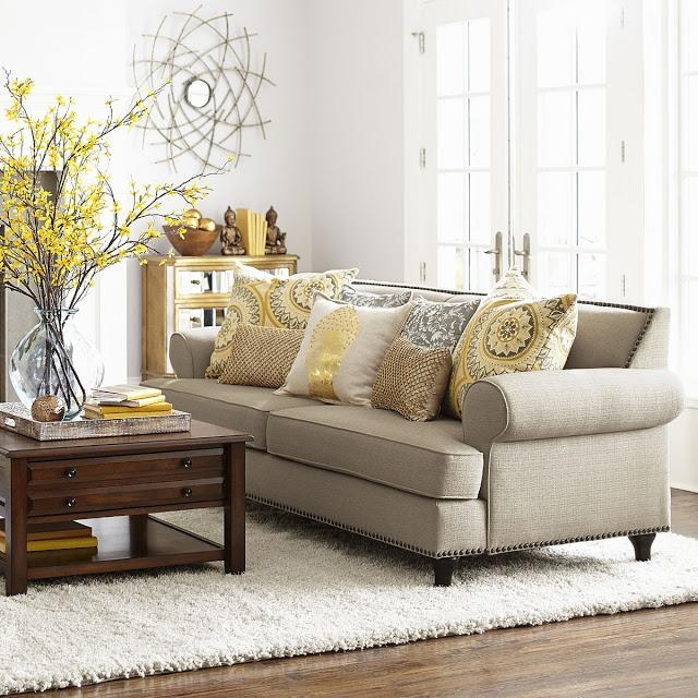 Lisa Loves John: The Low Down On The White Sofa In Pier 1 Sofas (Image 13 of 20)