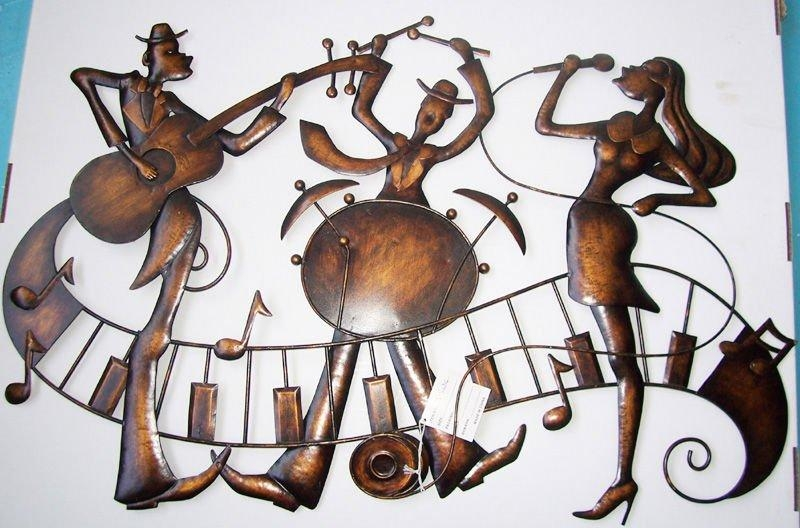 Live Jazz Metal Wall Sculpture – Buy Metal Wall Sculpture,music Throughout Music Metal Wall Art (Image 9 of 20)