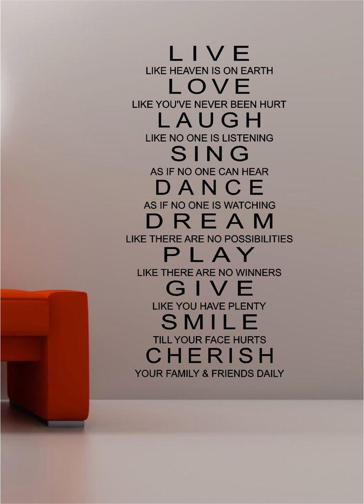 Live Laugh Love Wall Art New Wall Art Decals On Metal Wall Art With Regard To Live Laugh Love Wall Art Metal (Image 14 of 20)