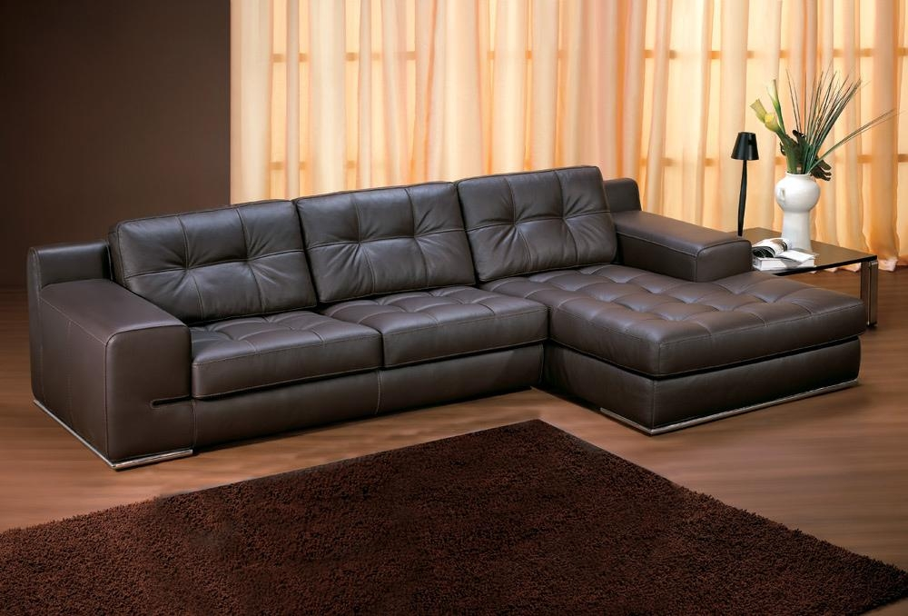 Living Room Amazing 2017 Modular Chesterfield Leather Sofa With Intended For Black Leather Chaise Sofas (View 13 of 20)
