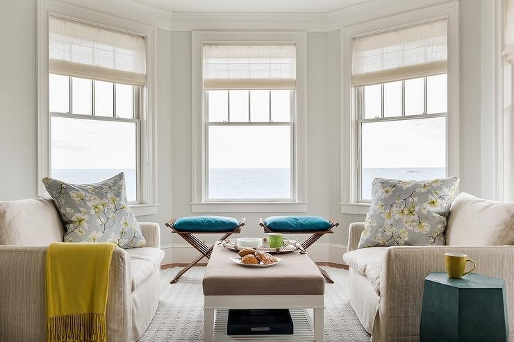 Living Room Bay Window Sofas – Transitional – Living Room In Window Sofas (Image 8 of 20)