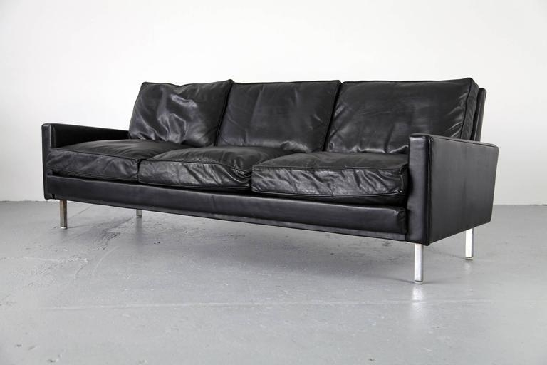 "Loose Cushion"" Sofa And Two Club Chairsgeorge Nelson For Throughout George Nelson Sofas (Image 14 of 20)"