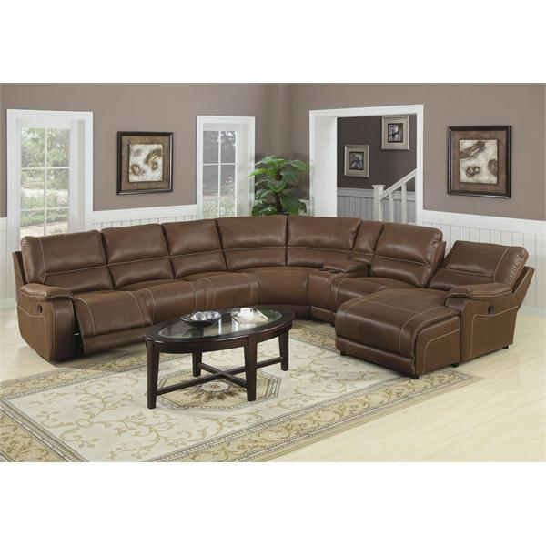 Loukas Extra Long Reclining Sectional Sofa With Chaise By Coaster 769 In Coaster Sectional Sofas (View 6 of 20)